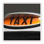 "Taxi ""For Hire"" sign"